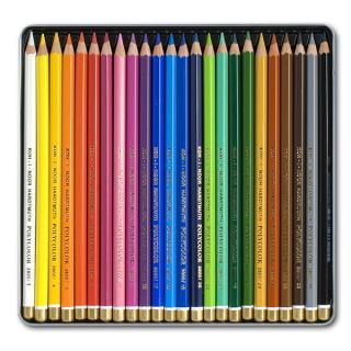Художественные цветные карандаши Koh-I-Noor POLYCOLOR, набор 24 цвета