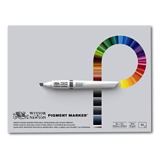 Альбом для маркеров «Pigment Marker» Winsor&Newton, 75 г/кв.м, 229х305 мм, 50 листов