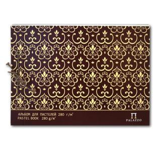 Альбом для пастелей «Слоновая кость» серия Palazzo Modern Лилия Холдинг, 280 г/кв.м, А4, 20 л