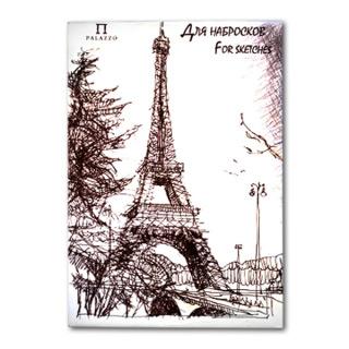 """Бумага для набросков """"Париж"""" Лилия Холдинг, 110 г/кв.м, формат А3, 200 листов"""