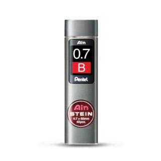 Грифели для автоматических карандашей Pentel Ain Stein 40 шт 0.7 мм (HB B)
