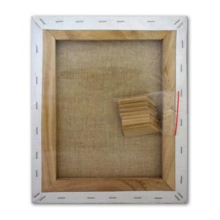 Холст на подрамнике Сонет НЕВСКАЯ ПАЛИТРА грунтованный, 100% лен, в ассортименте
