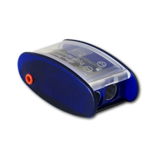 Точилка для карандашей и графитовых стержней 3 в 1 KUM «Automatic Long Point»  с автостоппером + лезвия