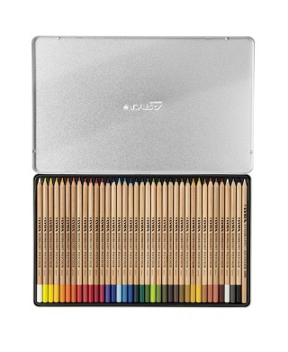 Набор профессиональных цветных карандашей Rembrandt Polycolor LYRA, 36 цветов