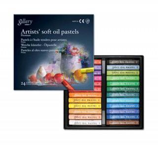 Масляная пастель MUNGYO Gallery Soft oil мягкая 24 цвета для профессионалов