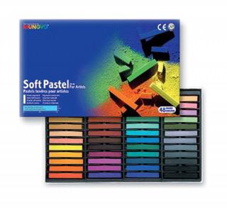 Пастель художественная мягкая для детей и взрослых MUNGYO Soft Pastel 48 цветов