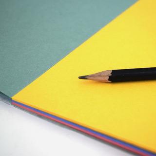 "Планшет для творчества ""Калейдоскоп"" Лилия Холдинг, цветная бумага, 200 г/кв.м, формат А4, 20 л"