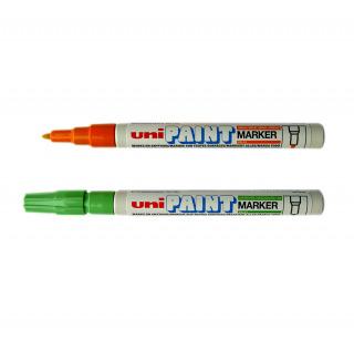 Маркер перманентный Золотой Uni Paint 0,8 - 1,2мм (круглое перо) PX-21