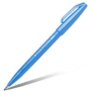 Фломастер-кисть для рисования и черчения Pentel Brush Sign Pen 2 мм