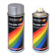 Антикоррозийный алюминиево-цинковый грунт для стали Alu-Zinc Spray MOTiP DUPLI, 520 мл