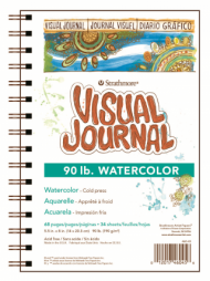 Блокнот для акварели Strathmore Visual Journal Watercolor 190г, 14х20,3см, 34л