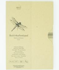 Альбом SM-LT Art Authentic Cream 80г/м2 A4 100 листов в папке склейка по длинной стороне