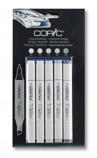 Набор маркеров Copic Classic Industrial Design 5 штук в блистере