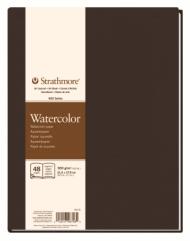 Блокнот для акварели Strathmore 400 Watercolor Art Journal 300г, 21,6х28см, 24л