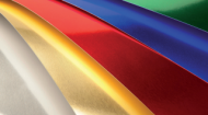 Набор бумаги Sadipal с фольгированным покрытием 225г/кв.м, 50x65см, 5л