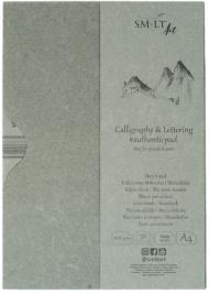 Альбом SM-LT Authentic Calligraphy&Lettering 100 г/м2 (целлюлоза) А4 50л склейка по одной стороне в папке
