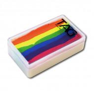 Профессиональный гипоаллергенный аквагрим Сплит-кейк TAG «Неоновая радуга», 30 гр