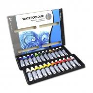 Набор художественных акварельных красок в тюбиках Simply DALER-ROWNEY, 24 цвета