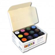 Акриловые матовые краски Decola НЕВСКАЯ ПАЛИТРА для рисования и декора, набор 12 цветов по 20 мл