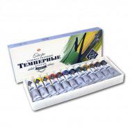 Темперные краски «Мастер-Класс» НЕВСКАЯ ПАЛИТРА, набор 12 цветов по 18 мл