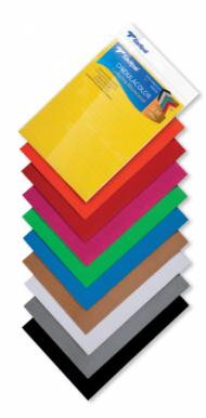 Набор гофрокартона Sadipal в листах 280г/кв.м, A4, 21х29,7см, 10 л
