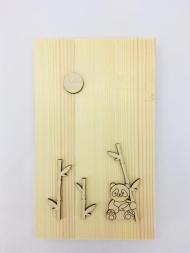 Заготовка Timberlicious для декорирования  панно 3 25х12см