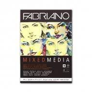 Альбом для акварели, акрила и смешанных техник Mixed Media FABRIANO, 250г/м2, А3, 40 л