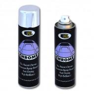 Аэрозольная краска «CHROME» BOSNY с эффектом хромированной поверхности, 300 мл