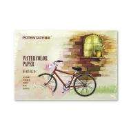 Альбом для акварельных карандашей Watercolor Pencil Pad POTENTATE, 230 г/кв.м, 12л, 21х15,5 см
