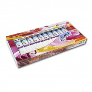 Универсальные акриловые краски «Ладога» НЕВСКАЯ ПАЛИТРА, набор 10 цветов по 46 мл