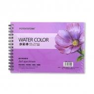 Альбом для акварели Watercolor Pad POTENTATE, 230 г/кв.м, 20 л, формат 13,5x19,5 см