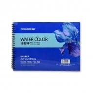 Альбом для акварели Watercolor Pad POTENTATE, 300 г/кв.м, 16 л, формат 27x19,5 см