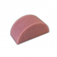 Мягкий полукруглый спонж TAG для аквагрима, сплит-кейков и макияжа