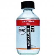 Защитный финишный лак для акрила Amsterdam Royal Talens глянцевый и матовый, 250мл
