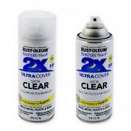 Лак полуматовый финишный Painter's Touch 2X Ultra Cover Rust-Oleum, аэрозоль 340 г