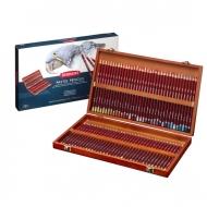 Большой набор пастельных карандашей Derwent Pastel Pencils, 72 цвета