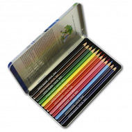 Набор цветных акварельных карандашей Giotto Scat metallo FILA, 12 цветов