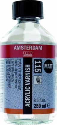 Лак для акрила Royal Talens Amsterdam (115) Матовый 250мл