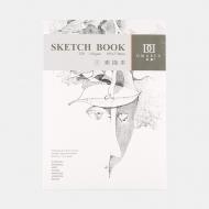 Альбом-склейка Sketch Book POTENTATE, 270х195 мм, 110 г/м2, 32 листа