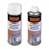 Изоляционный грунт для бетона, камня, дерева BELTON Basic, белый, аэрозоль 400 мл