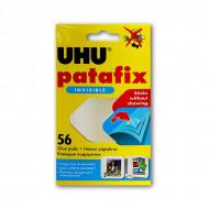 Многоразовые прозрачные клеевые подушечки для гладких поверхностей UHU PATAFIX  Invisible
