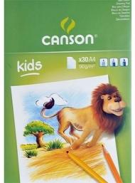 Альбом Canson Discovery&Learning 90г/кв.м 21*29.7см 30листов склейка