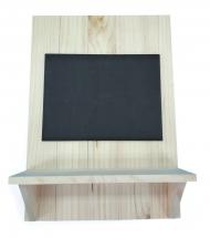 Заготовка Timberlicious для декорирования меловая доска с полкой 42*20см
