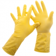 "Перчатки резиновые Paclan ""Practi.Universal""  желтые"