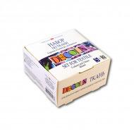 Набор акриловых красок по ткани Decola НЕВСКАЯ ПАЛИТРА 5 цветов*20 мл, 2 контура и разбавитель