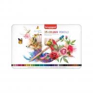Набор цветных карандашей Bruynzeel Expression Colour 36 цв в металл.кор.