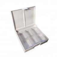 Коробка под акварель Сонет, 12 кювет, пластик