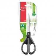Канцелярские ножницы Essentials green Maped, 17 см, симметричные