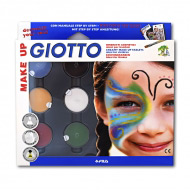 Грим-крем GIOTTO Make up FILA для фейс-арта, боди-арта и детского грима, классические цвета, 6 шт.