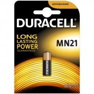 Батарейка Duracell MN21 (23A) 12V алкалиновая, 1BL (1шт. упаковка)